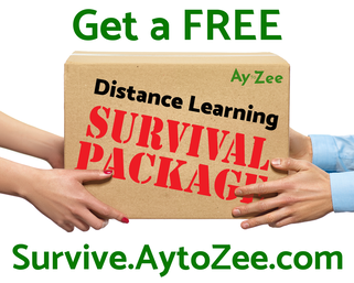 Get a FREE Distance Learning Survival Package!